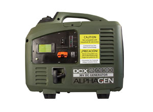 Alpha Technologies Introduces New DCX2000 Portable Generator